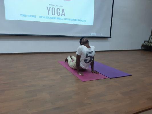 International Yoga Day 2019 – Sri Sairam Siddha Medical